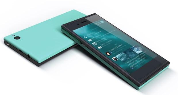 Eerste versie van Jolla's smartphone