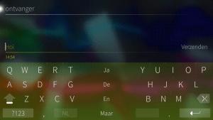 opgedeeld toetsenbord